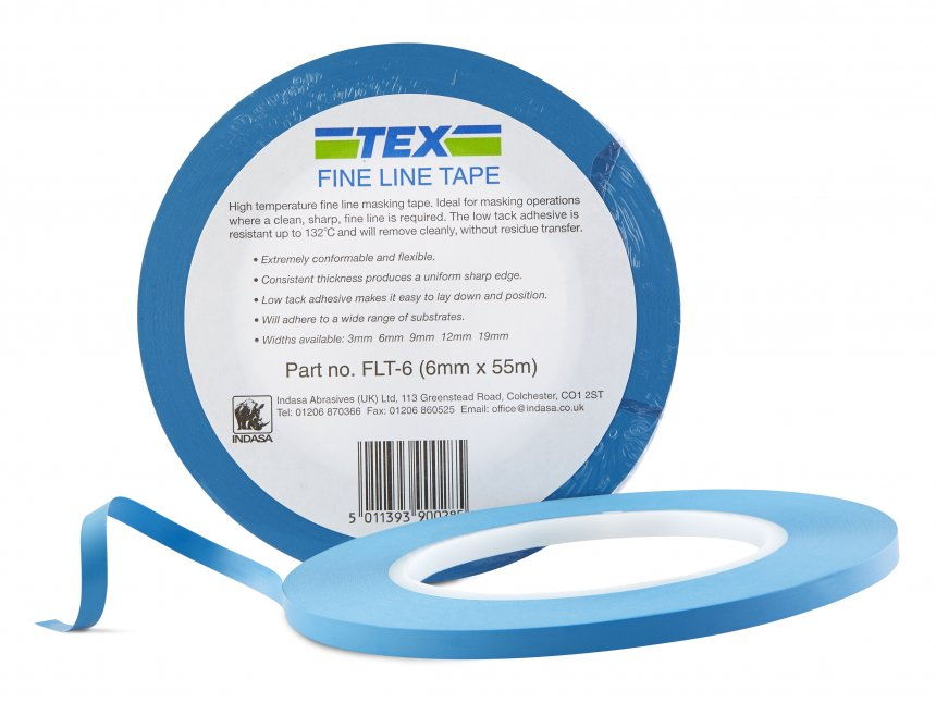 Fine Line Blue Tape